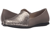 Ecco Touch Ballerina 2.0 Scale Warm Grey Warm Grey Women's Slip On Shoes Gray