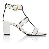 Paul Andrew Women's Salma T Strap Sandals White