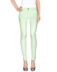 Camouflage Ar And J. Casual Pants Light Green