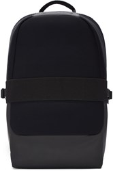Y 3 Black Neoprene Qasa Backpack