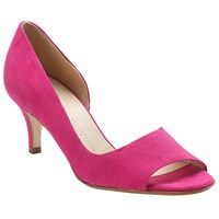 Peter Kaiser Jamala Peep Toe Heeled Sandals Berry