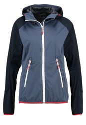 Icepeak Glory Soft Shell Jacket Aqua Blue