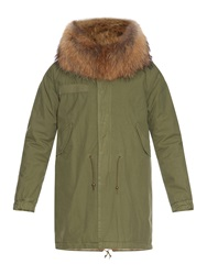 Mr And Mrs Italy Fur Lined Canvas Parka
