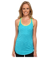 New Balance Fashion Tank Top Sea Glass Heather Women's Sleeveless Blue