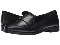 Franco Sarto Valera Black Leather Women's Slip On Dress Shoes