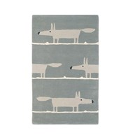Scion Mr Fox Rug Silver 140X200cm