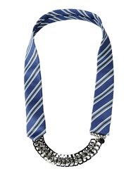 Pinko Necklaces Blue