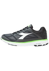 Diadora X Run Neutral Running Shoes Jet Black White