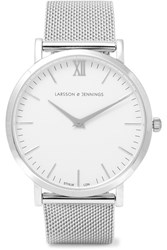 Larsson And Jennings Lugano Silver Plated Watch One Size