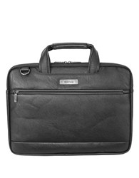 Kenneth Cole Reaction Long Way To Go Faux Leather Slim Computer Case Black