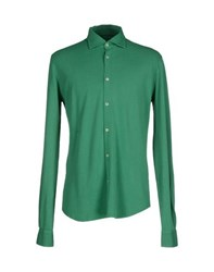 Fedeli Shirts Shirts Men Green