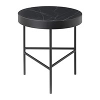 Ferm Living Marble Table Medium Black Marquina