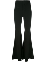Givenchy Wide Flare Trousers Black