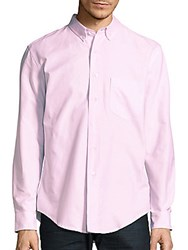Palm Angels Oxford Solid Shirt Light Pink