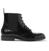Jimmy Choo Jules Polished Leather Boots Black