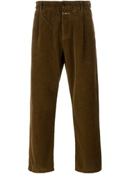 Closed Corduroy Trousers Brown