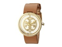Tory Burch Reva Trb4020 Gold Tan Watches