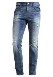 Tom Tailor Denim Aedan Slim Fit Jeans Light Stone Wash Blue Denim