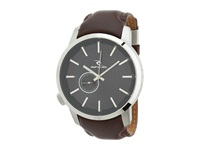 Rip Curl Detroit Navy Steel Leather Watches Brown