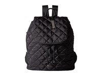 Le Sport Sac City Gramercy Backpack Phantom Black Quilted Backpack Bags