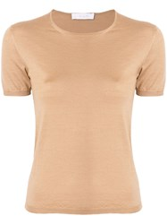 Cruciani Short Sleeve Fitted Top 60