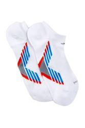 Adidas Climacool X Iii No Show Socks Pack Of 2 White
