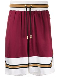 Dolce And Gabbana Track Shorts Red
