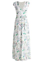 Oh My Love Marigold Maxi Dress White