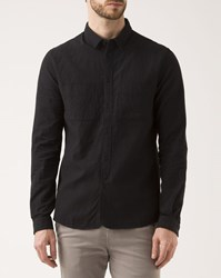 Ikks Black Micro Pocket Caviar Shirt