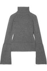 Michael Kors Collection Cashmere Turtleneck Sweater Anthracite