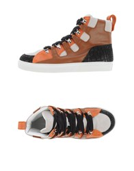 Kris Van Assche Krisvanassche Footwear High Tops And Trainers Men Brown