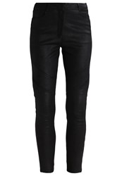 J. Lindeberg J.Lindeberg Kath Leather Trousers Black