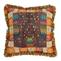 Etro Banavie Tassel Edged Cushion 45X45cm Orange