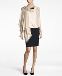 Inc International Concepts Geo Jacquard Wrap Only At Macy's Champagne