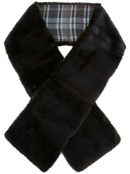 Loro Piana Fur Scarf Brown