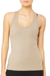 Alo Yoga Women's True Tank Gravel