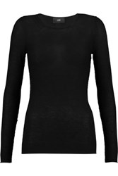 Line Barton Modal And Cashmere Blend Sweater Black