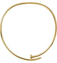 Cartier Juste Un Clou Torque 18Ct Yellow Gold Necklace