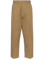 Haider Ackermann Tapered Trousers Brown