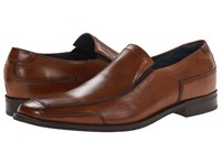 Rush By Gordon Rush Shaw 14 Cognac Leather Slip On Dress Shoes Brown