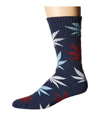 Huf Plantlife Crew Sock Navy Crew Cut Socks Shoes