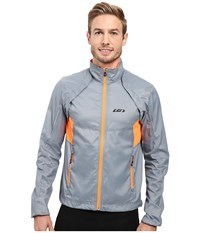 Louis Garneau Cabriolet Cycling Jacket Steel Men's Workout Silver