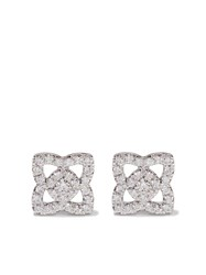 De Beers 18Kt White Gold Enchanted Lotus Small Stud Diamond Earrings Unavailable