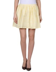 Imperial Star Imperial Mini Skirts Yellow