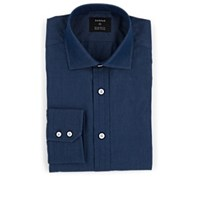 Fairfax Cotton Chambray Dress Shirt Dk. Blue