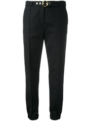 Kenzo Belted Track Pants Black