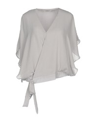 Darling Blouses Light Grey