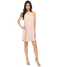 Culture Phit Gwendolyn Spaghetti Strap Ribbed Dress Pink Women's Dress