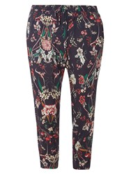 Dorothy Perkins Petite Floral Jogger Multi Coloured