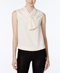 Rachel Roy Sleeveless Bow Top Only At Macy's Almond Milk